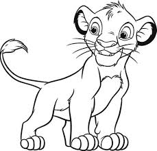 600x575 lion king coloring pages simba disney lion king coloring pages