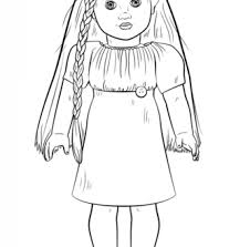 Lofty Idea American Girl Doll Coloring Sheets Free Pages Grace