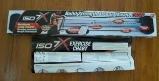 Iso 7x Muscle Body Building Workout Bar Isometric Gym Exercise As Seen On Tv