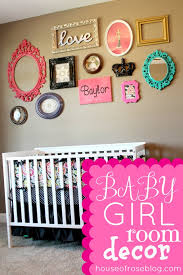 girl room ideas decorating simple wall decor girl nursery