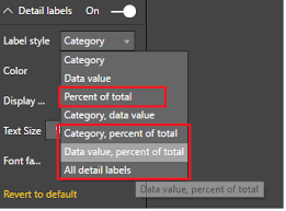 Show Percentage Value In Power Bi Pie Chart Geek Decoders