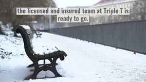 snow removal in saint joseph missouri triple t lawn care service