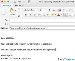 Outlook Mac Email Template Create Outlook Email And Meetings Templates In Office 365