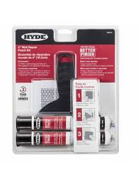 more views hyde 09915 better finish 4 inch wall repair patch kit