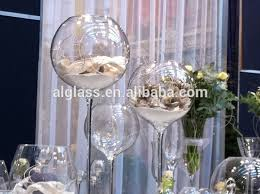 vases giant wine glass centerpiece vase giant wine glass with