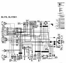 honda xl 125 wiring diagram honda wiring diagrams