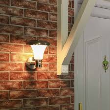solar wall lights led wall lights with pir night time