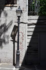 14 3 one of only two 19c gas street lamps in new york city greenwich village
