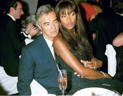 Naomi Campbell and Flavio Briatore