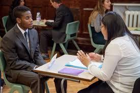 mock interview day leytonstone school 8727