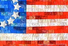 American Flag free quilt pattern/devotequilter.com/nancy zieman ... & American Flag quilt pattern by Stephanie Kepecs Joanne Perlmutter Adamdwight.com