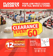 floor and decor clearance event shopping ads from commercial