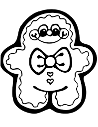 cute gingerbread man coloring pages. Interesting Pages Cute Gingerbread Man Coloring Page Inside Coloring Pages R