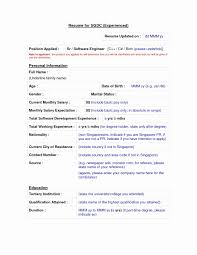 Format Of Resume For Experienced - Resume Template Easy - Http://www ...