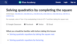 quadratics solving quadratics solving