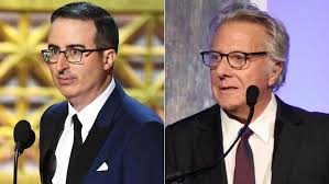 Dustin Hoffman Grilled by John Oliver Over Sexual Harassment Claims |  Entertainment Tonight