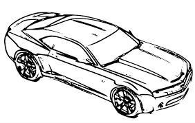 Imprimer V Hicules Voiture Chevrolet Num Ro 268462