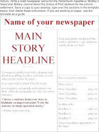 Newspaper Article Word Template Word Newspaper Template 2 1 Article Microsoft 2013
