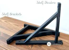 closetmaid shelf brackets closet wood for dividers what size 12 inch support
