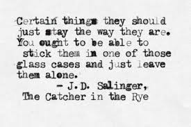Catcher In The Rye Quotes Delectable Quotes About Catcher In The Rye 48 Quotes