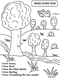 Spring Coloring Sheet Google Search