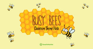 Bee Themed Birthday Chart Busy Bee Classroom Theme Pack Teach Starter