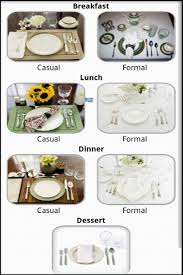 formal breakfast table setting. How To Set The Table Screenshot 2/6 Formal Breakfast Setting A