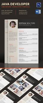 Free Resume Pdf Java Developer Resume Template 24 Free Word Excel PDFPS Format 19
