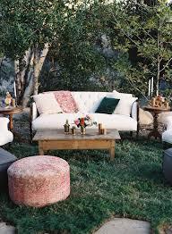 outdoor wedding furniture. Boho Chic Ojai, CA Wedding Outdoor Furniture P