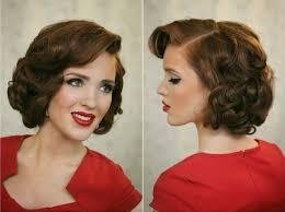 100 Red Pin Up Short Hair Yasminroohi