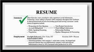 Example Of A Resume Summary - Gcenmedia.com - Gcenmedia.com