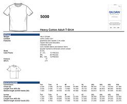 Gildan 5000 Size Chart Gildan Mens T Shirt Sizing Wholesale Clothing In London