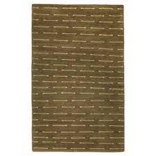 tufenkian modern brown green gray wool rug 6057
