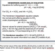 Henderson Hasselbalch 9 Gas Exchange Acid Base Status 2 Flashcards Quizlet