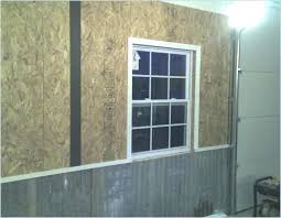 garage wall covering garage wall covering corrugated metal for interior walls the garage journal board wall garage wall covering