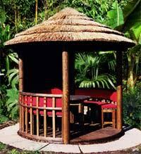 garden hut. Outdoor Living - NEW Cocoa Tropical Garden Beach Hut