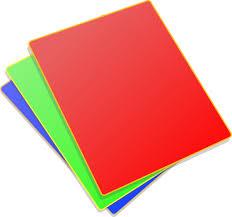 colored paper clip art at clker com vector clip art online