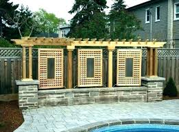 outdoor privacy panel ideas old doors screen pictures for backyard yard