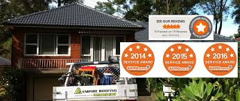 roof restoration sydney roof cleaning painting repairs empire roofing