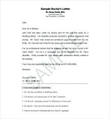 Travel Letter Template Emotional Support Animal Airline