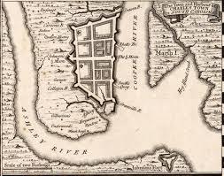 Pell Chart 1718 Blackbeard Blockades Charleston Sc May 1718 With A