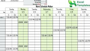 microsoft office schedule maker office schedule templates 7 free word documents download