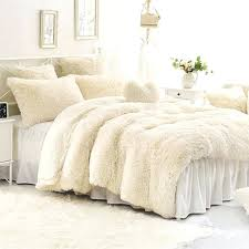 fluffy duvet cover solid creamy white super soft 4 piece fluffy bedding sets duvet cover white fluffy quilt cover
