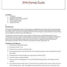 best photos of book review sample apa paper style format for apa   best photos of book review sample apa paper style format for apa