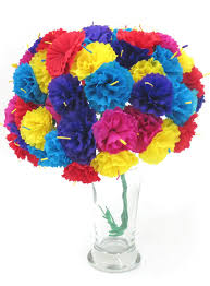 Paper Flower Bouquet In Vase Leos Imports Tm Carnation Mexican Paper Flower Bouquet Silk Flower Arrangements