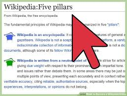 Photo Editor Wikipedia How To Become A Wikipedia Editor 8 Steps With Pictures