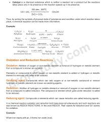 chapter notes chemical reactions and equations class 10 science 1 2 3 4 5 6 7