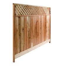 metal fence panels lowes.  Lowes Top Choice Actual 6ft X 8ft Natural Redwood Lattice In Metal Fence Panels Lowes K