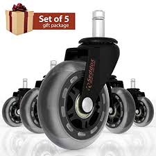 office chair wheels gift set of 5 protect all your floors 3