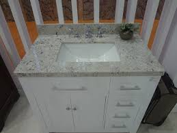 white quartz countertop that teustone manufactured